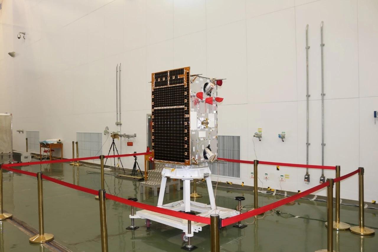"""我国首颗空间引力波探测卫星""""太极一号""""在轨测试成功"""
